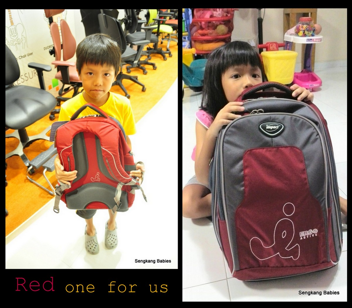cost of Impact school bags