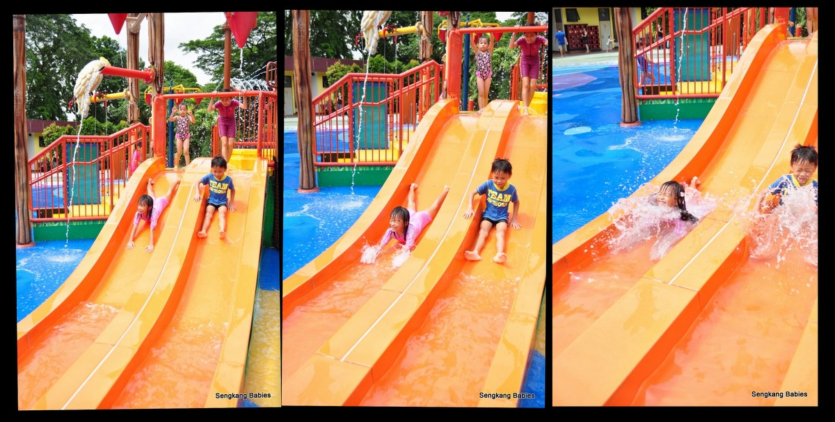 Jurong Birdpark water playground,Jurong Birdpark water slides