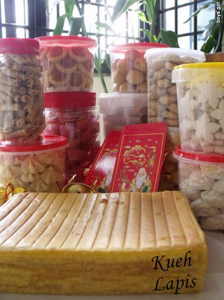 Chinese NEw Year Kueh Lapis