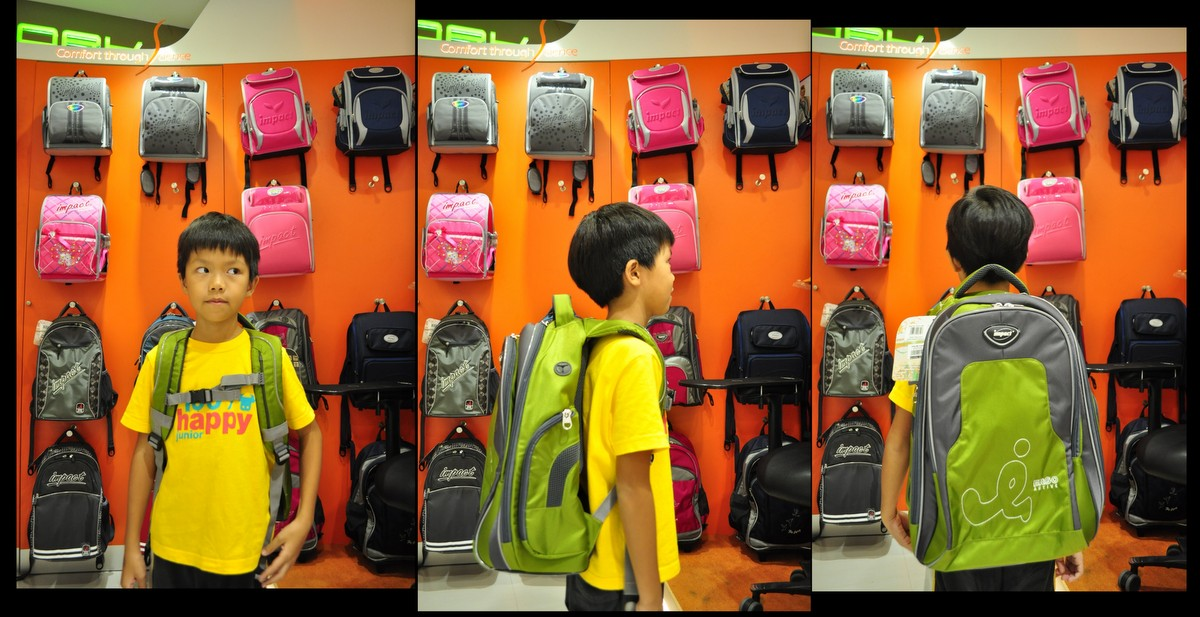 importance of ergonomic schoolbags