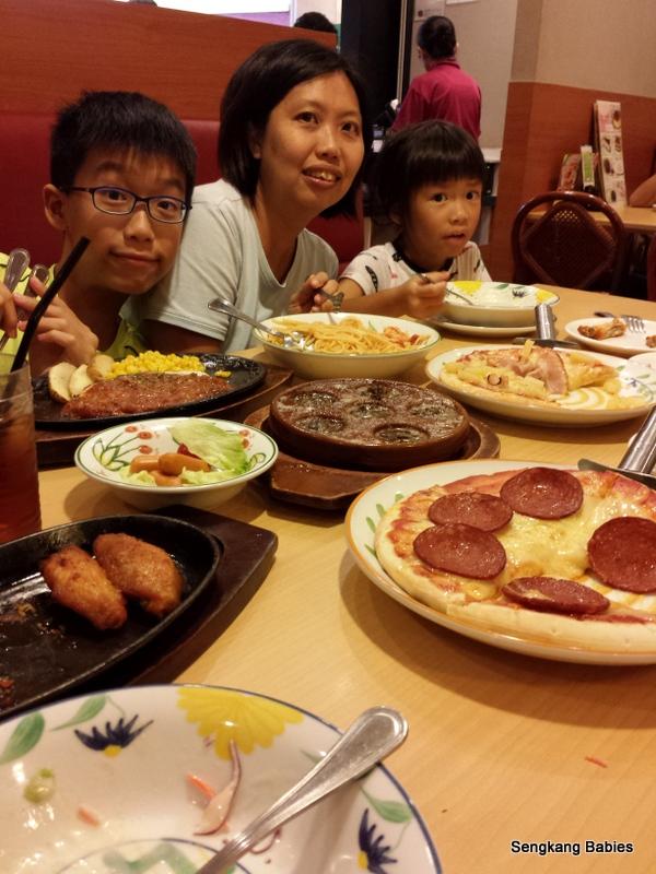 saizeriya food photos, saizeriya happy customer, saizeriya happy family