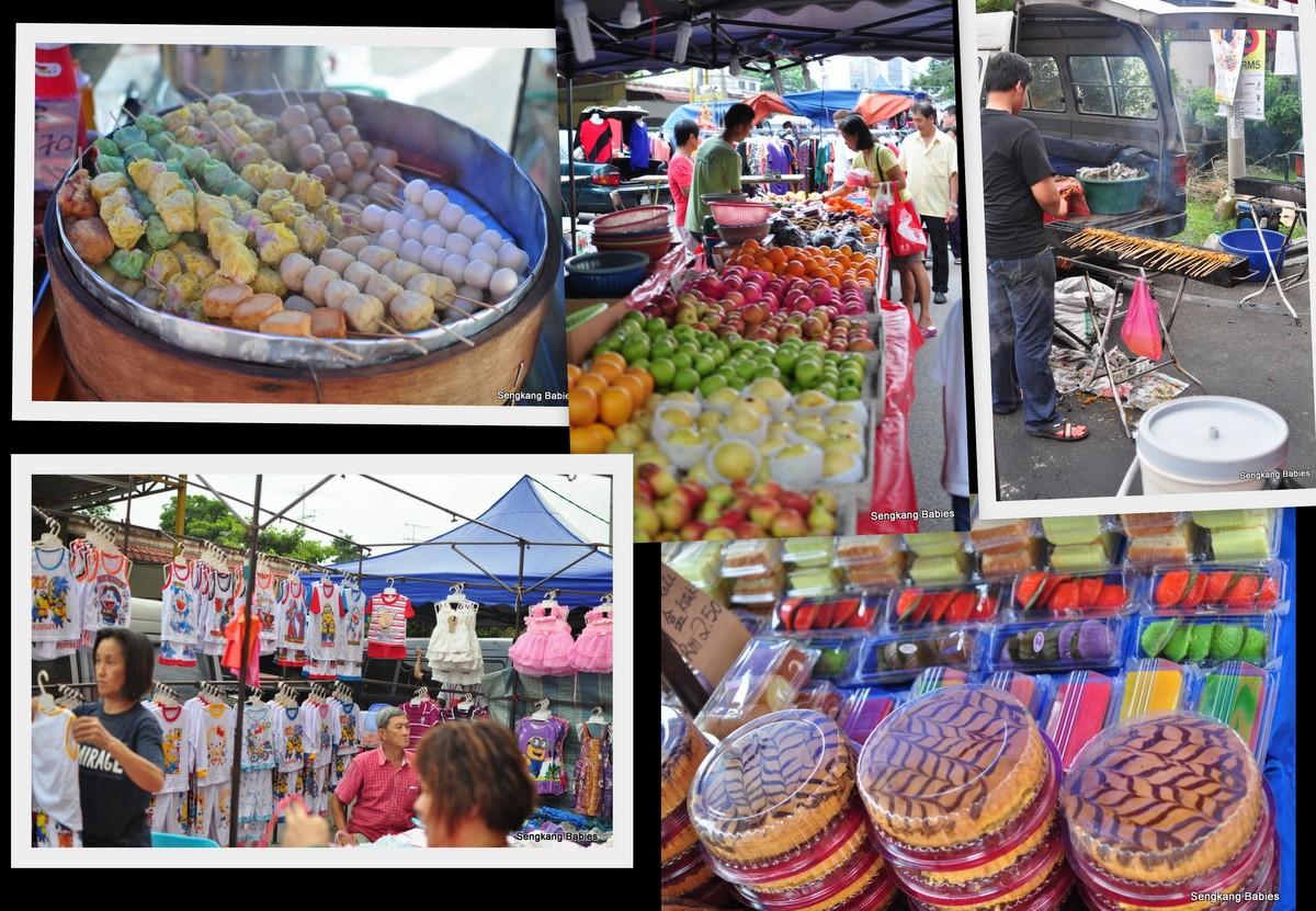 Johor satay, KSL Pasar Malam satay