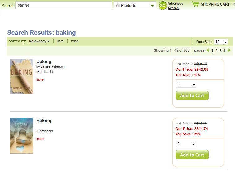 buying baking books online