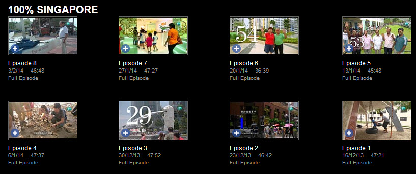 Catchup TV, Xinmsn Catchup