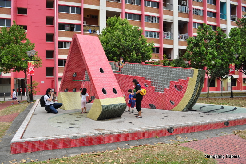 Old playgrounds near tampines Park