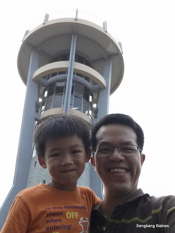 Famous Rocket tower Singapore