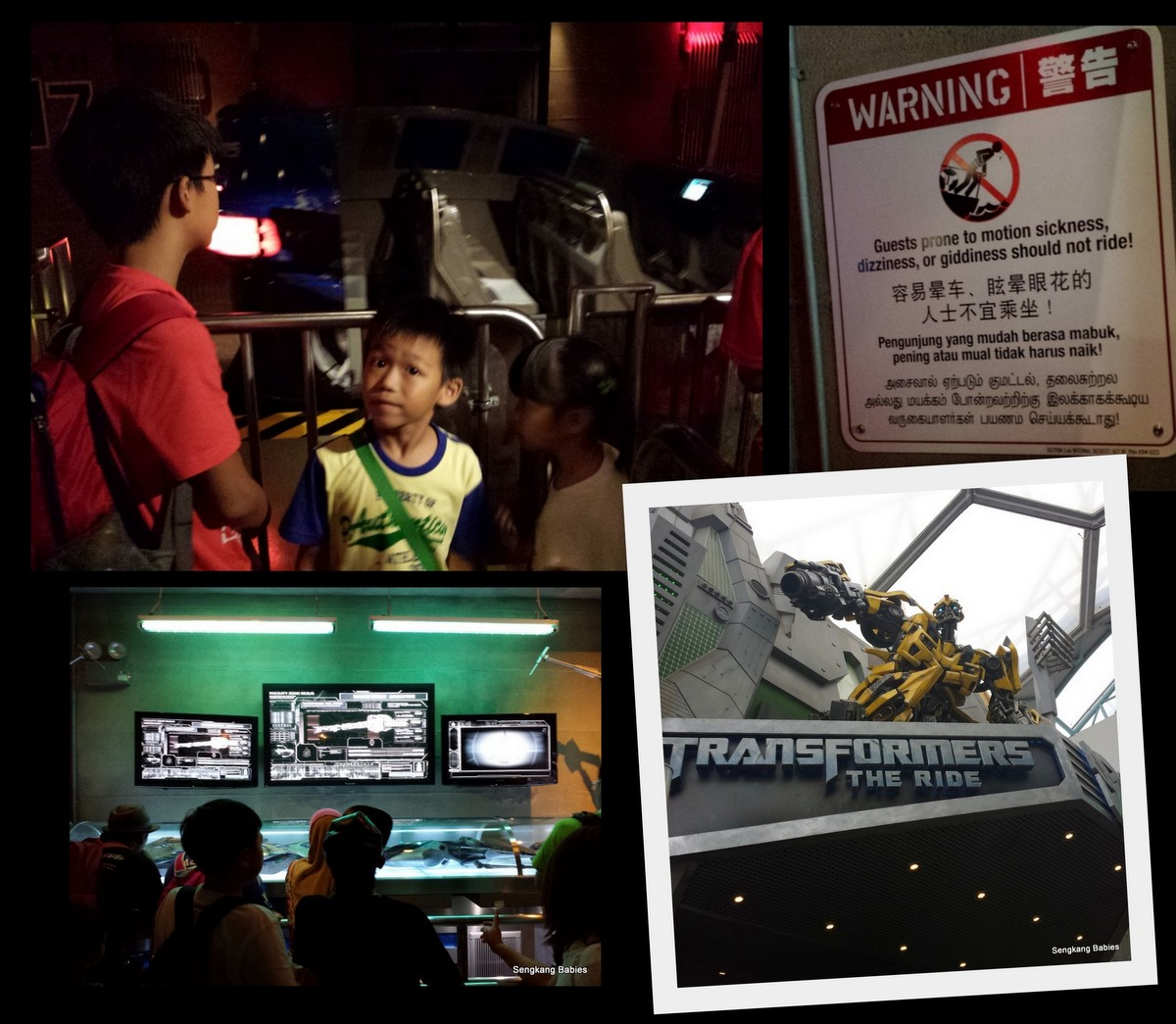 Transformer 3D ride Singapore, Uss Transformer