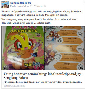 Young Scientist contest