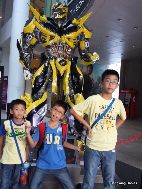 Transformer Age of Extinction showtime
