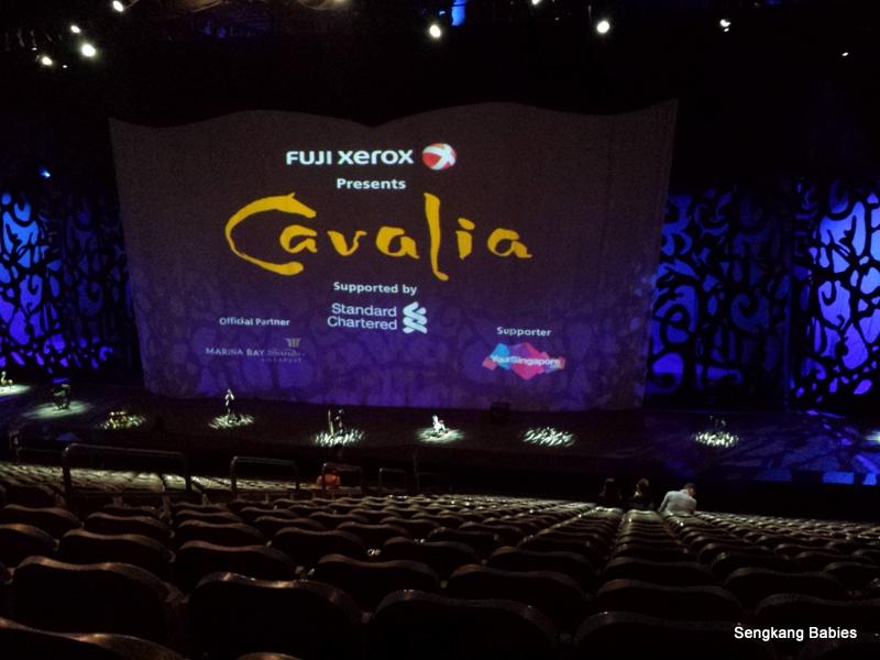 How to go to Cavalia Singapore