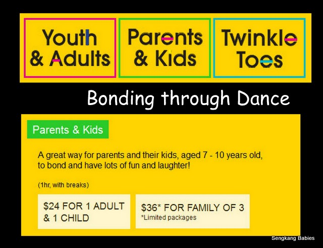 Esplanade Parent child Dance
