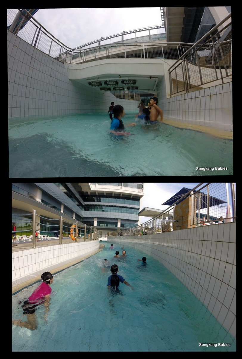 Swimming pool with Lazy river