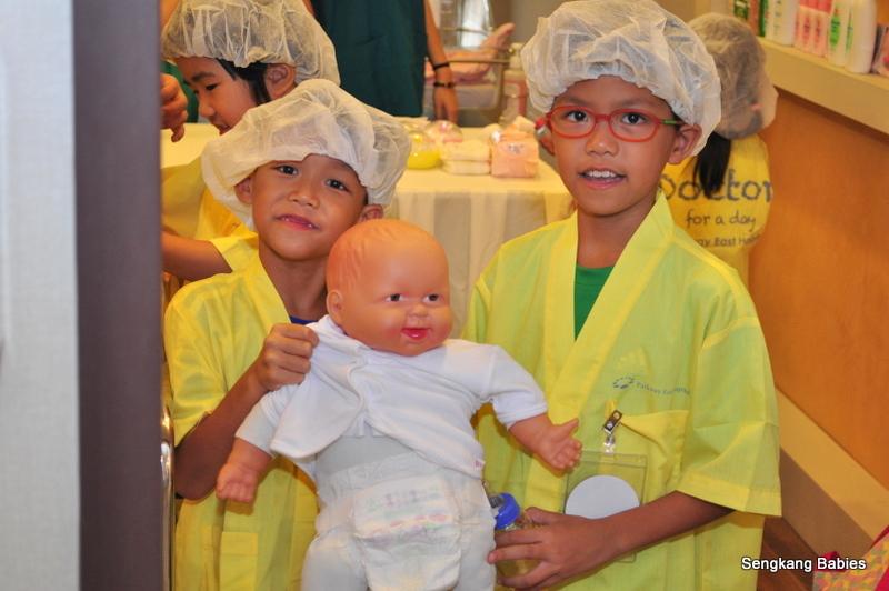 Children love to be doctors