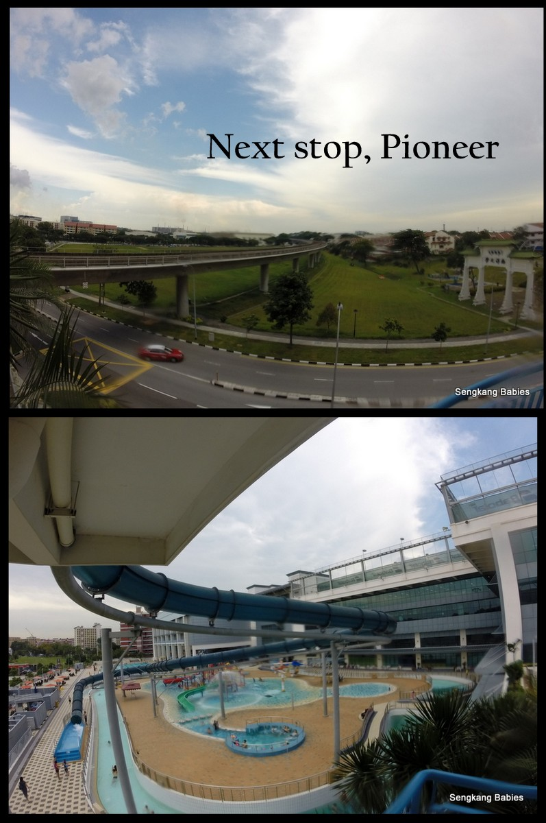 Jurong west swimming pool next to Pioneer MRT