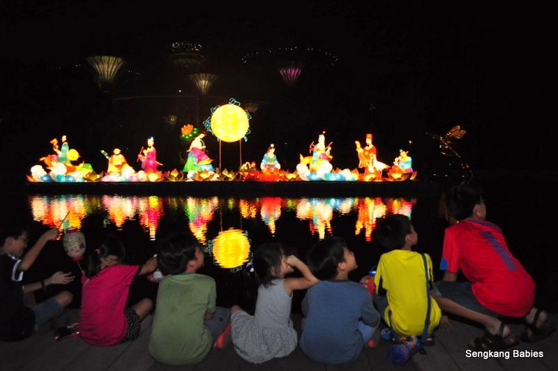 Children at Mid Autumn Festival