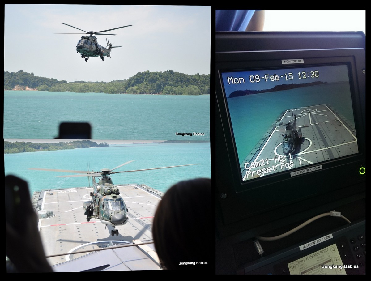 Singapore Navy and Air Force integration