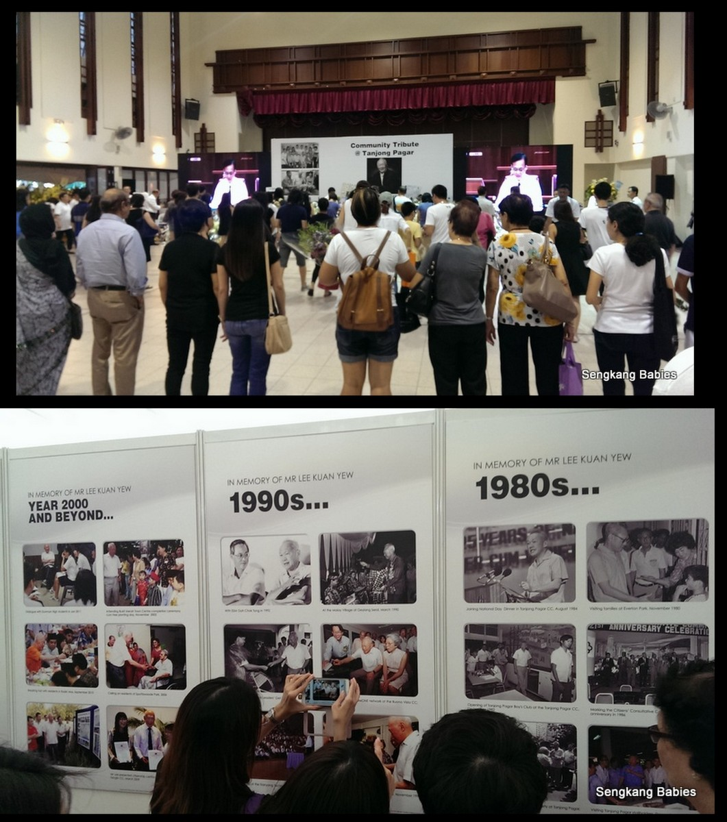 Lee Kuan Yew Tanjong Pagar Tribute