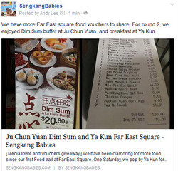 Far East Square food promotion