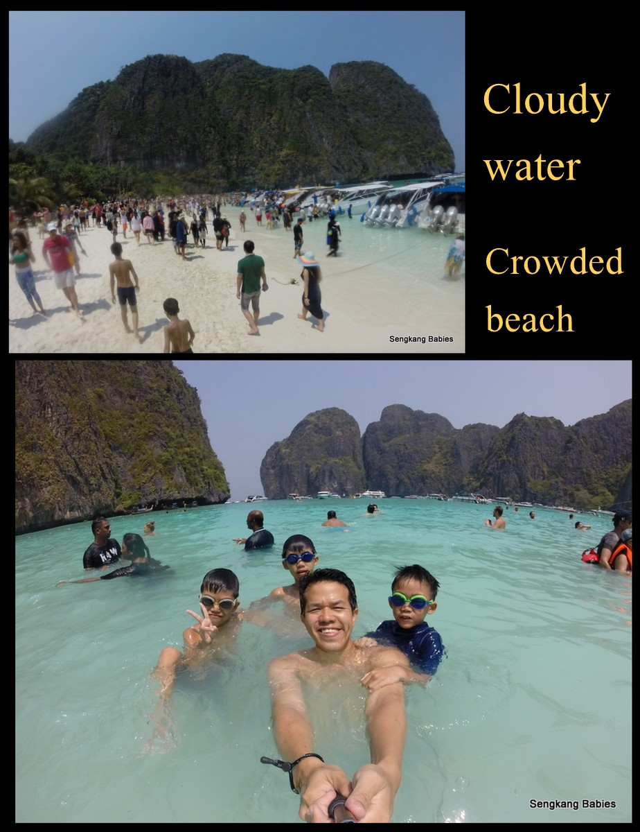 James Bond island overcrowded