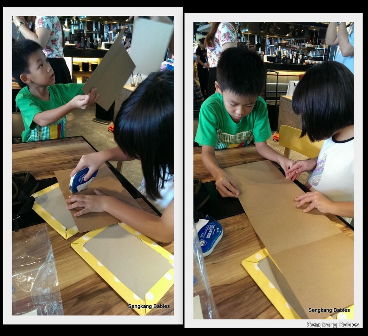 20150517 paper craft scrapbook Claudia2