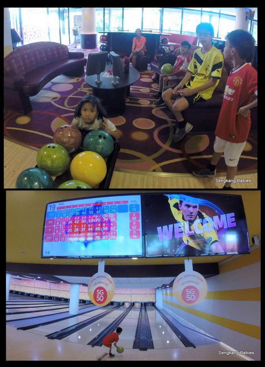 Bowling Changi Village Hotel