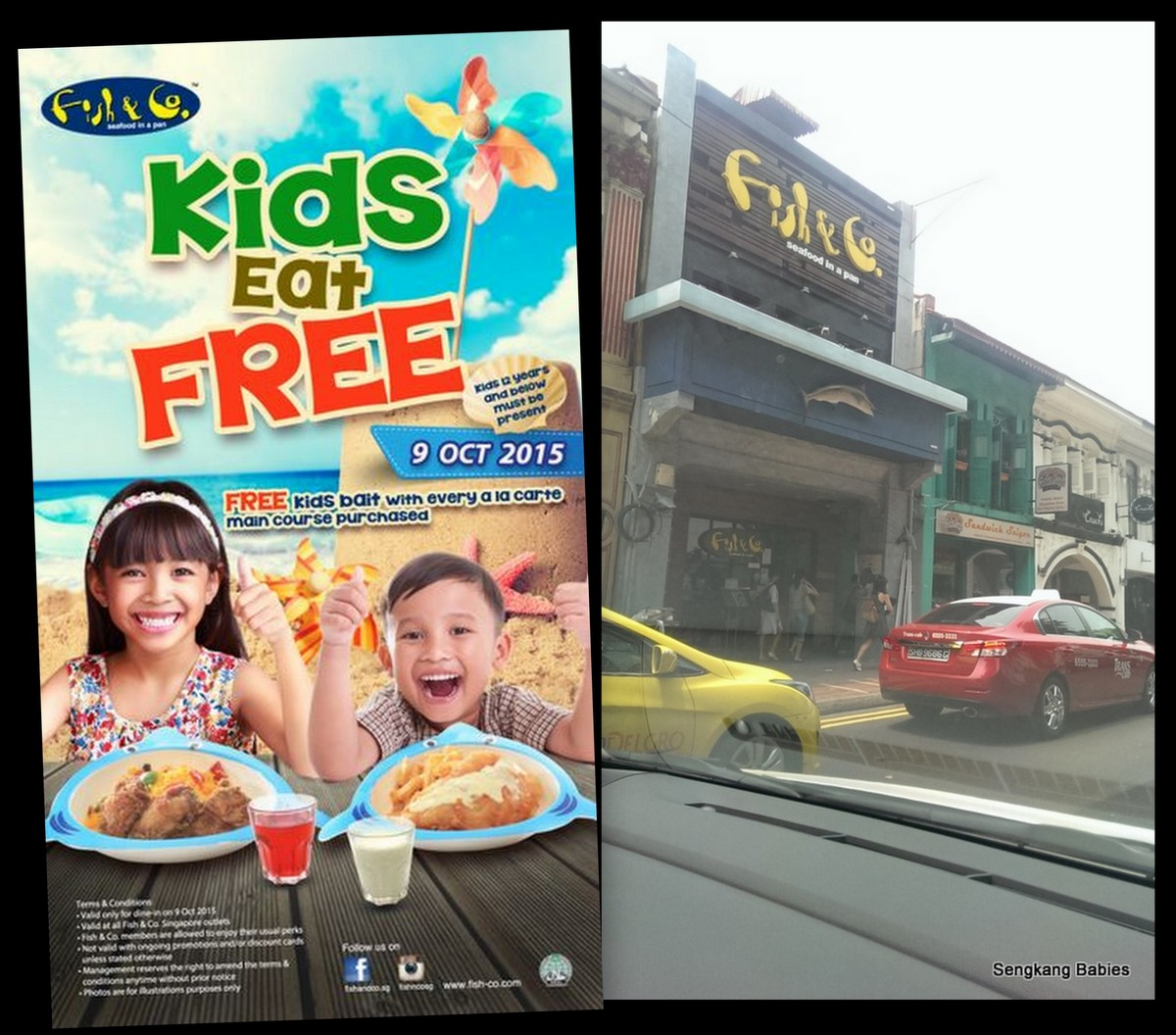 Fish & Co children day promotion
