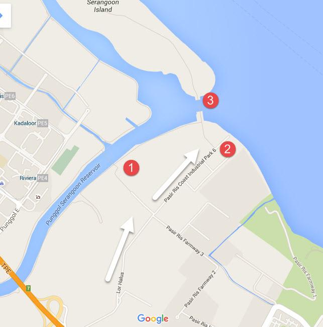 Punggol Coney Island GPS