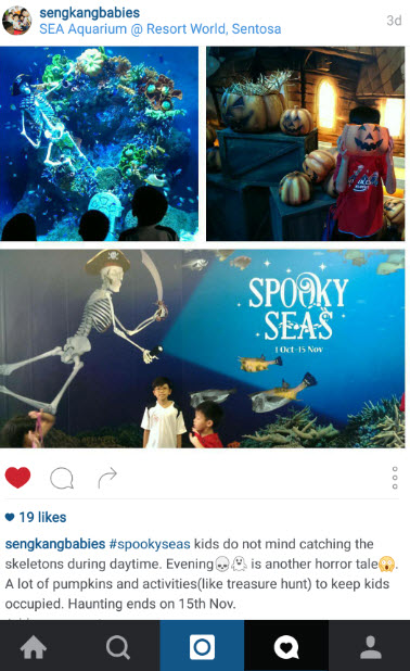 RWS SEA Aquarium spooky SEA