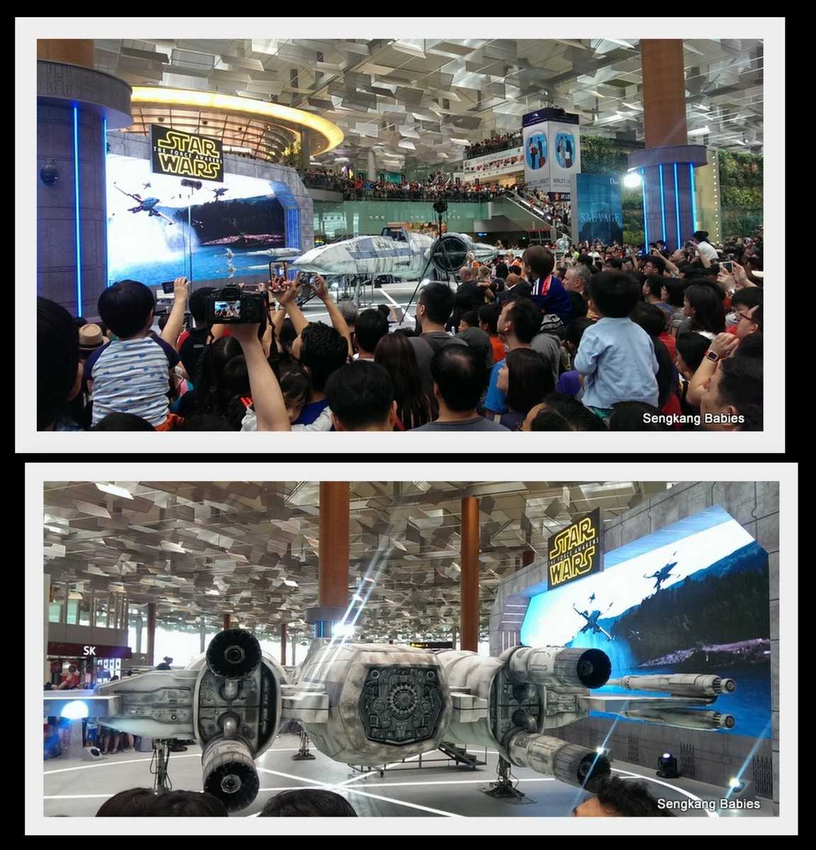 Changi Starwars Crowded