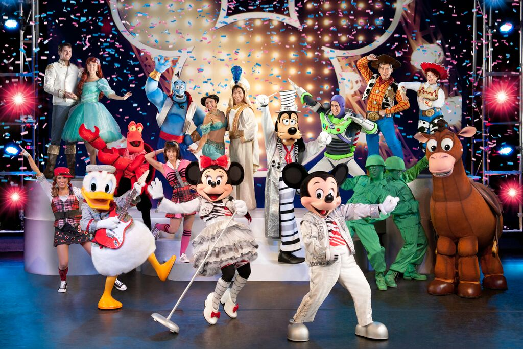 Disney Mickey crew2