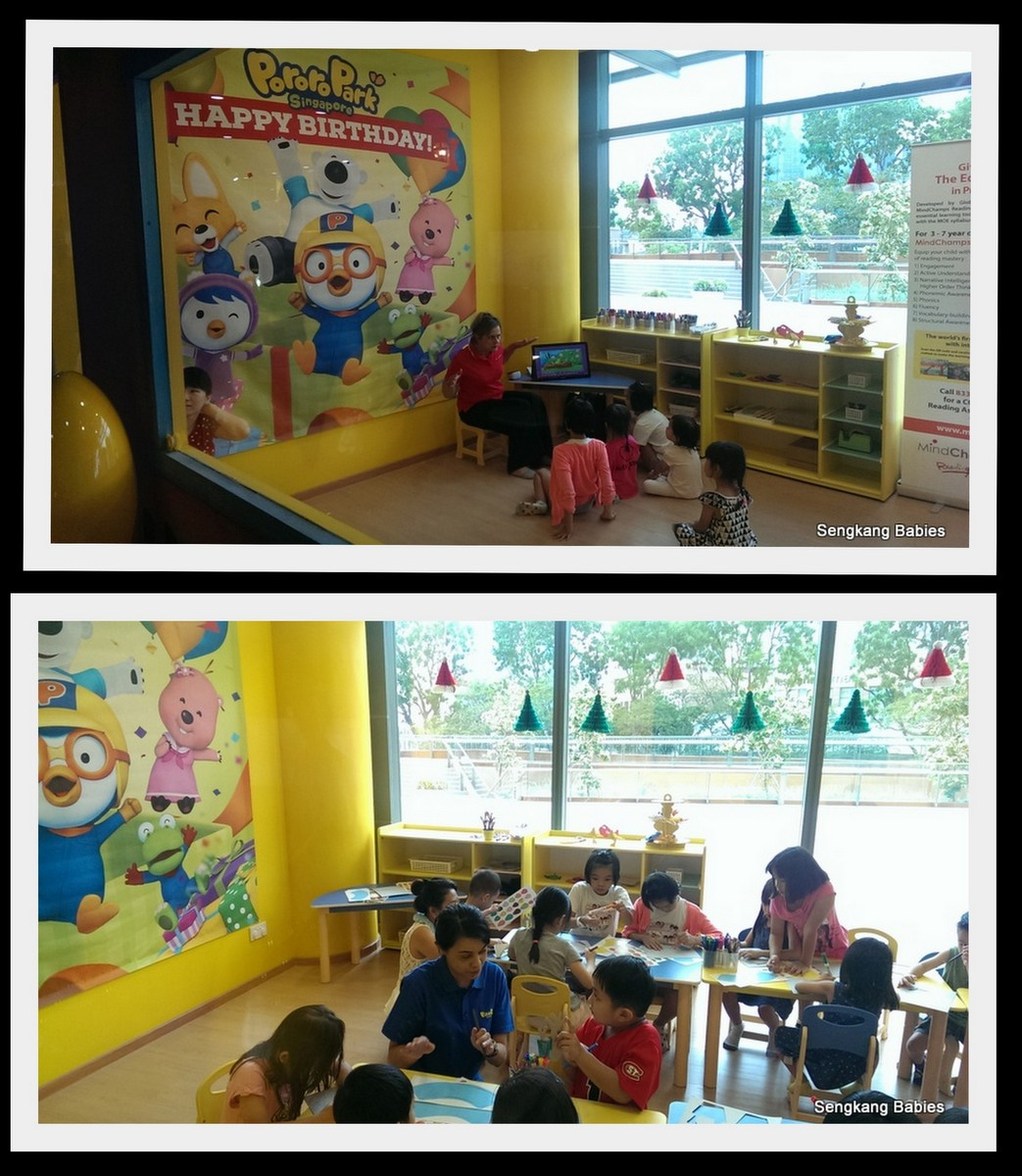 Pororo Singapore Birthday party