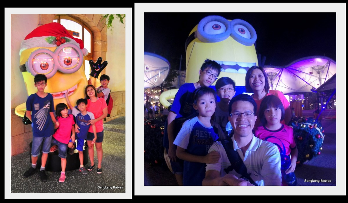 Universal Studios Christmas Minions
