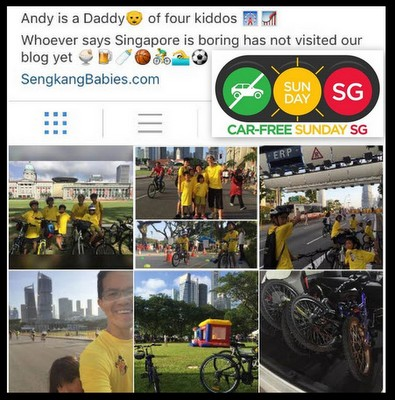 cycling fun Singapore