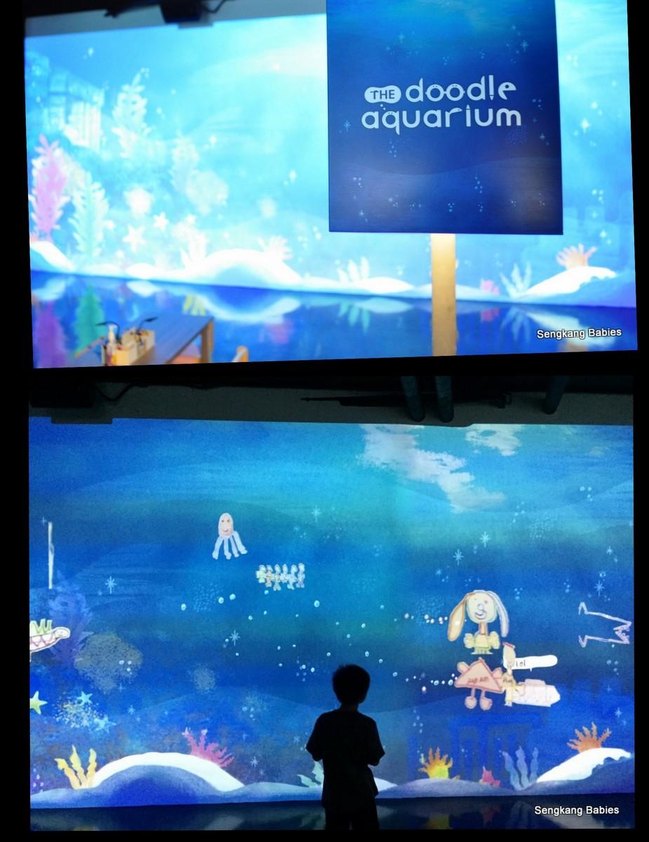 mosh Doodle aquarium