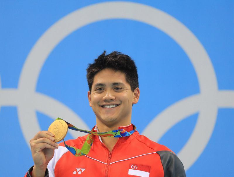Joseph Schooling swimming GOLD