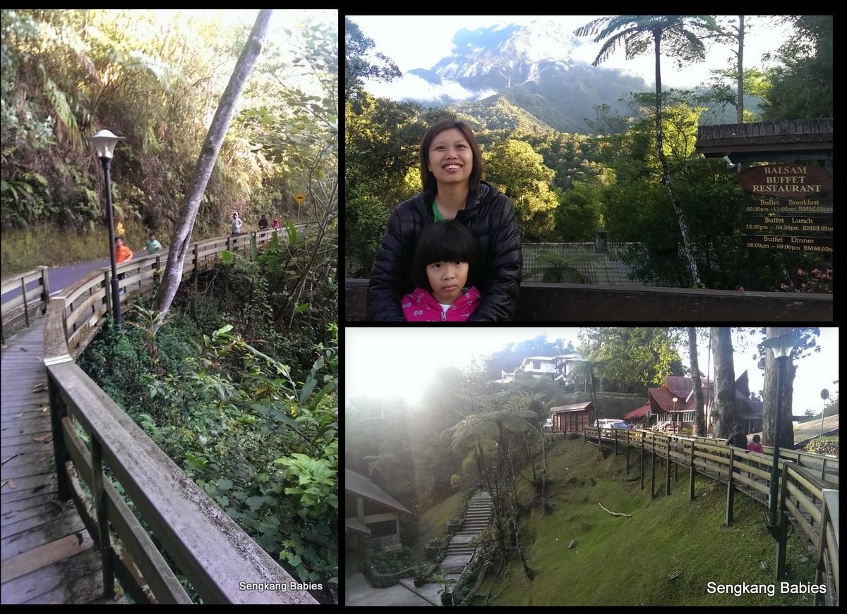 kinabalu park hiking