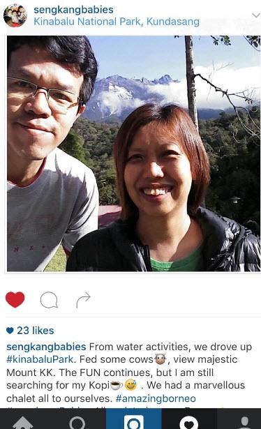 kinabalu mountain instagram