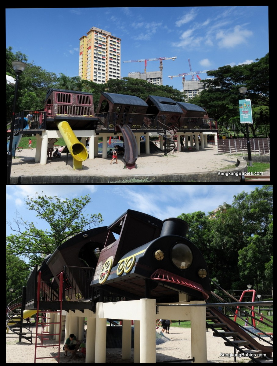 Tiong Bahru Train playground