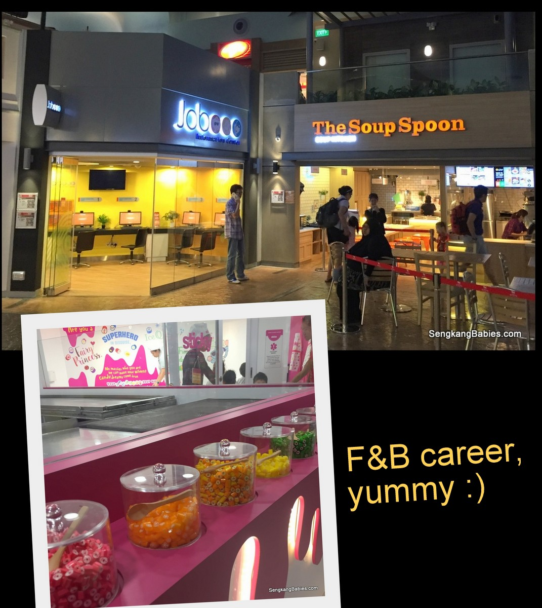 kidzania F&B career