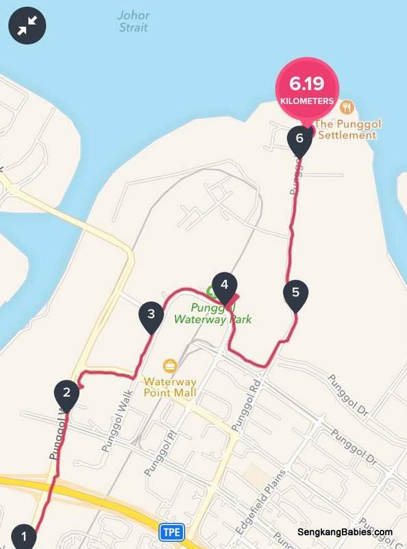 Punggol running routes