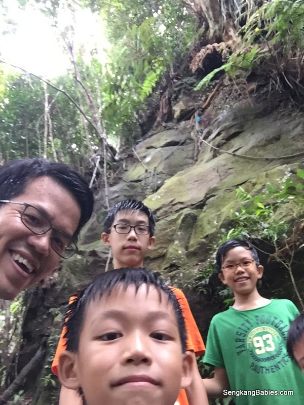 Gunung Panti hike 2016, and one proud Daddy