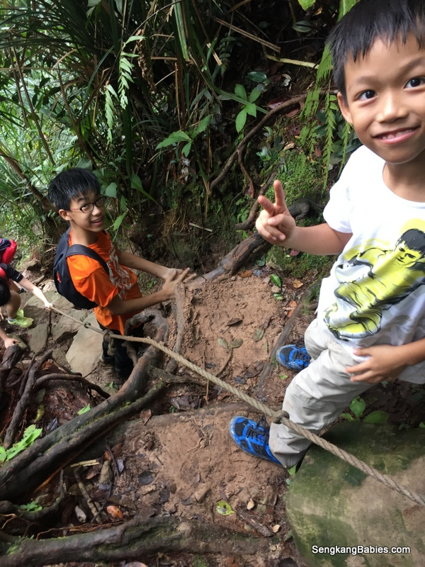 Gunung Panti with kids