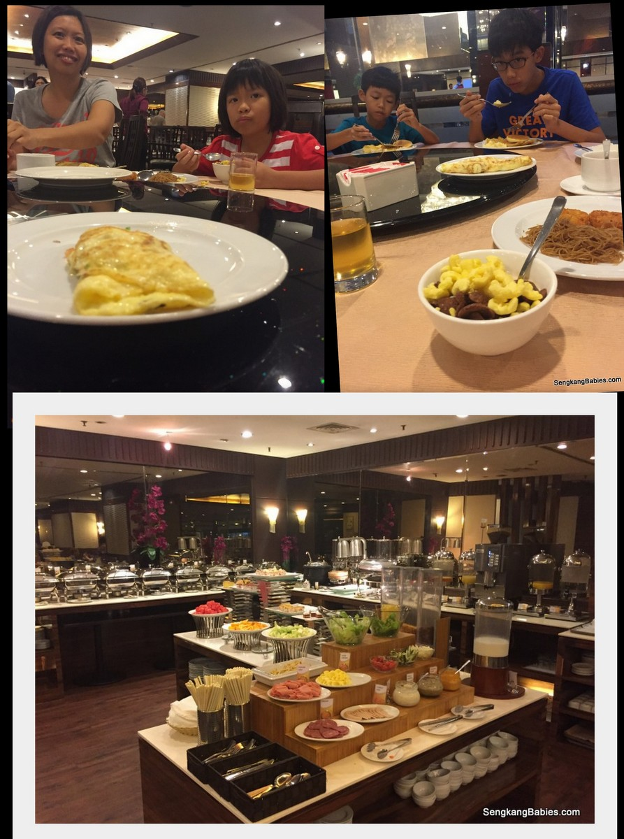 breakfast Bugis Village hotel