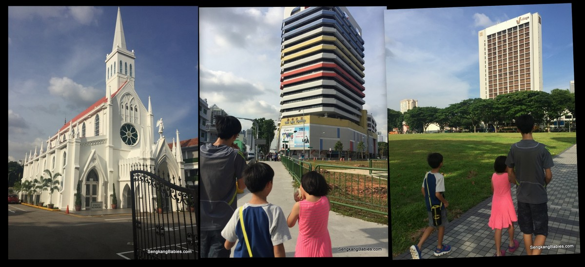 walking trail Rochor road