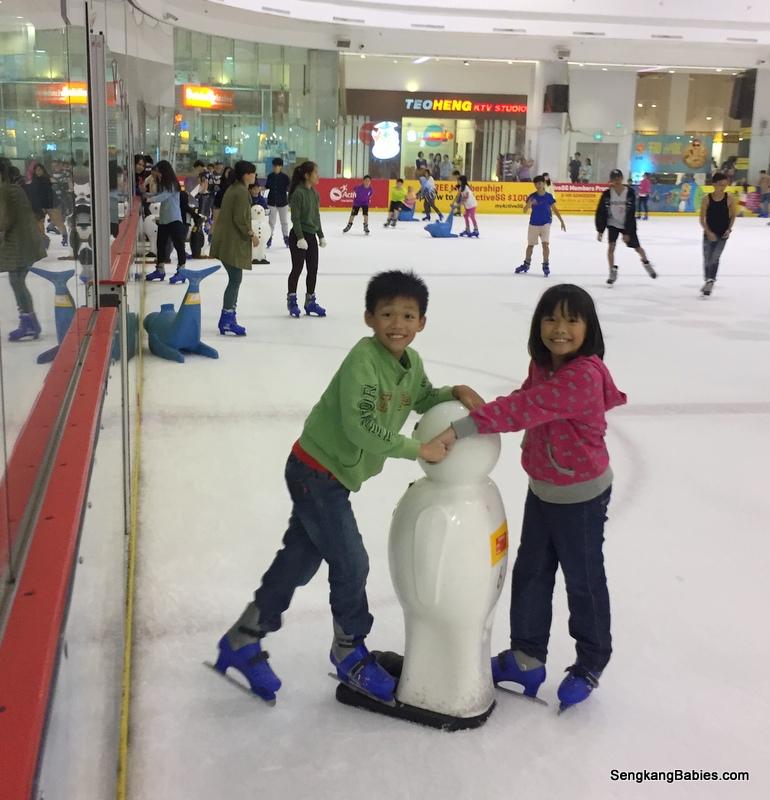 Ice skating Fun at The Rink JCube