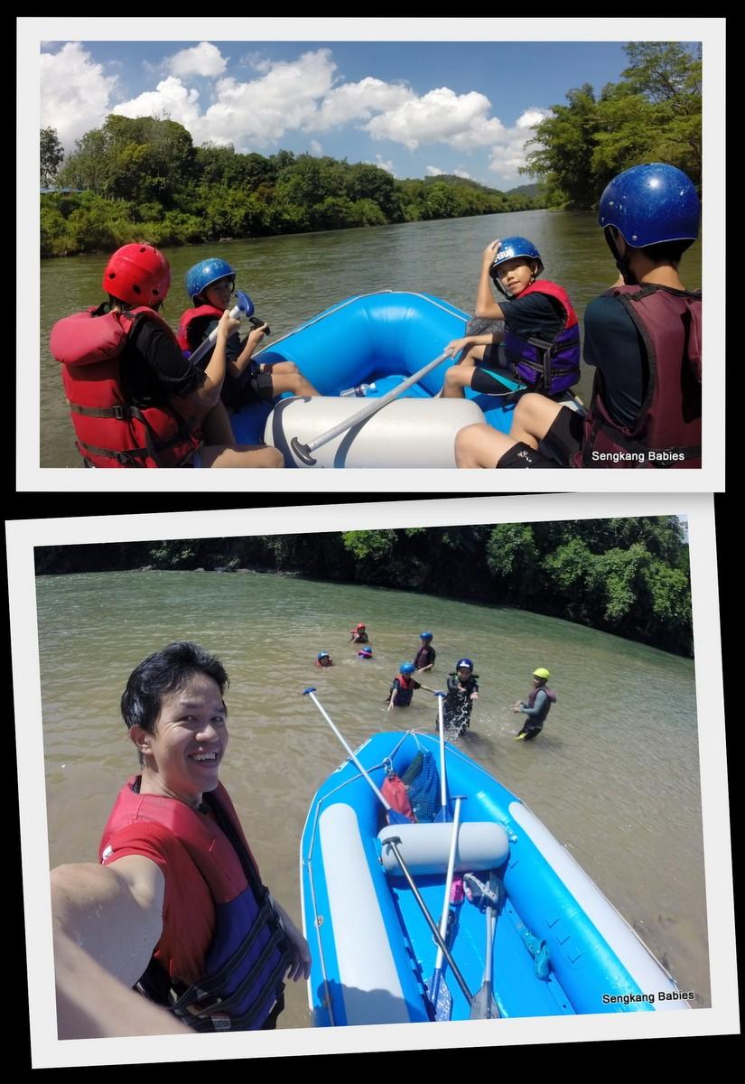Sabah White Water Rafting