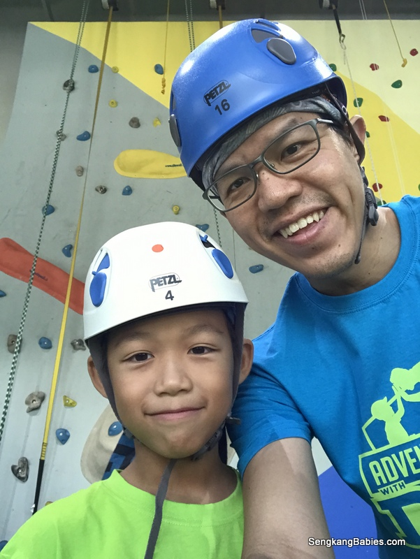 Daddy Child bonding at Dads Adventure Hub