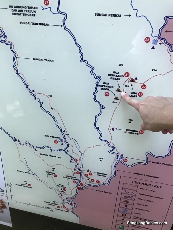 Taman Negara Map