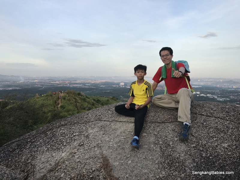 Hiking Broga Hill