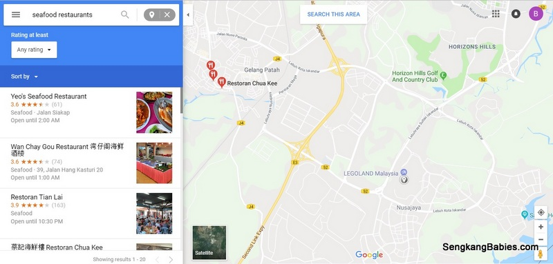 Google Map hacks